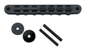 7 STRING TUNEOMATIC BRIDGE BLACK